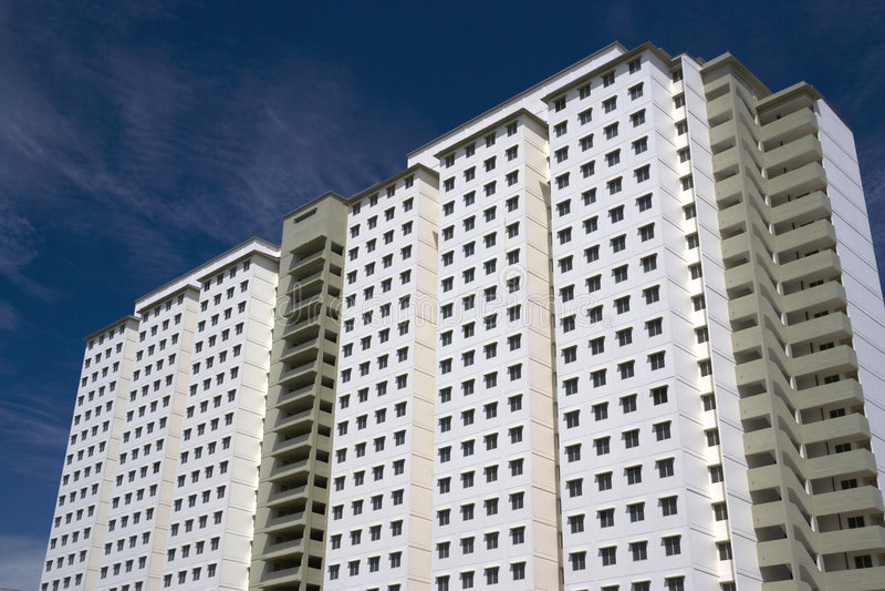 Download Modern High Density Housing Stock Image - Image: 7475167