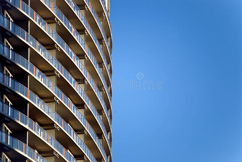 Modern High-Rise Building stock photography