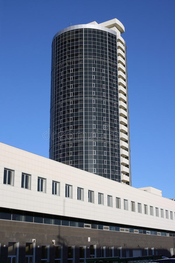 Modern high-rise building royalty free stock photos