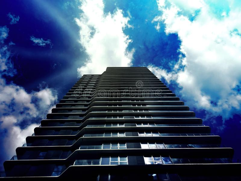 Modern high rise building royalty free stock photography
