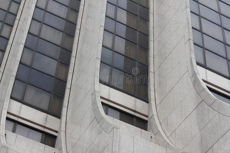 Modern high rise building stock photography