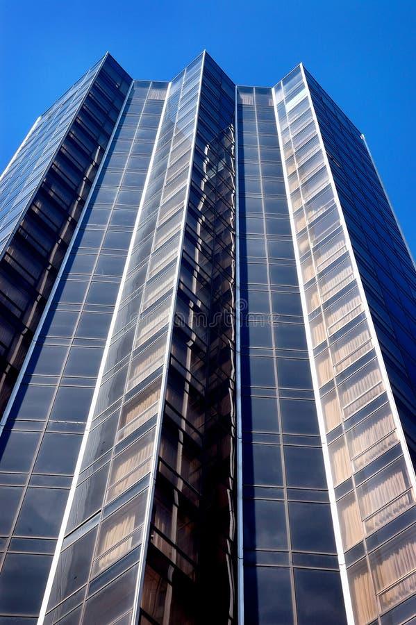 Modern high rise hotel stock photo