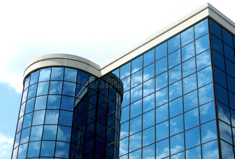 Download Modern High Tech Building Stock Photo Image Of Mirror