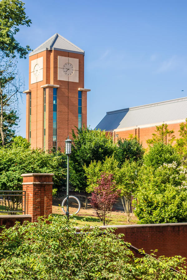 Modern College Campus Buildings Stock Photo - Image of ...