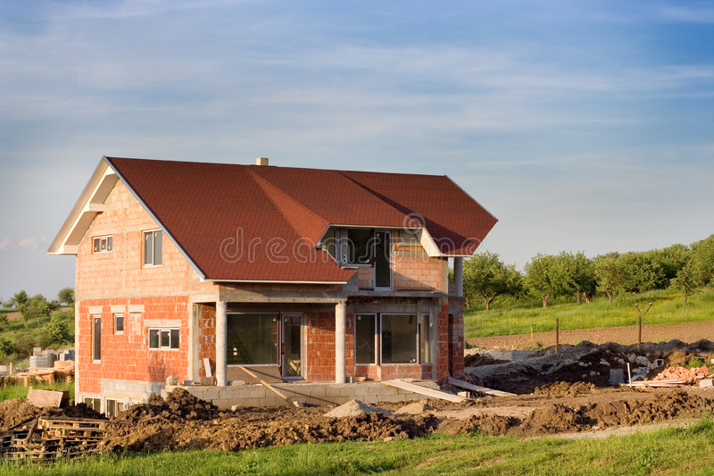 Download Modern Home stock image. Image of housing, plywood, wall - 816057