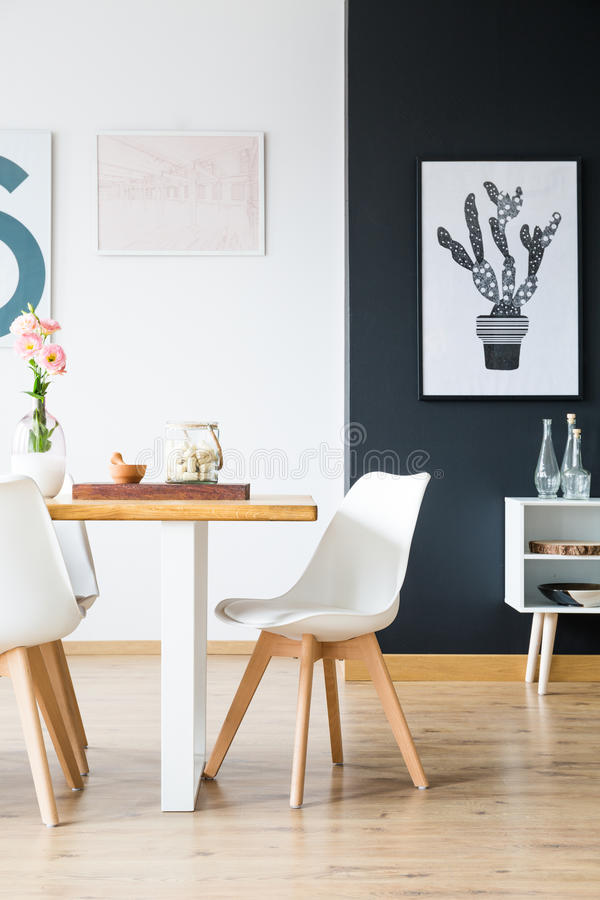 Modern home interior design royalty free stock images