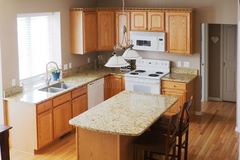 Download Modern Home Kitchen Stock Image - Image: 5478001