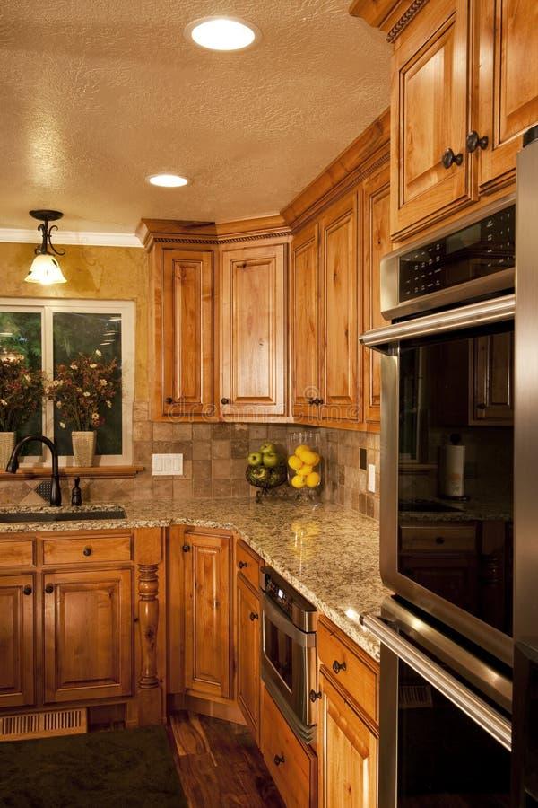 Modern Home Kitchen stock image