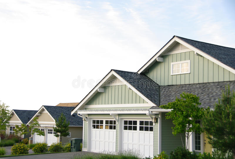 Modern Homes stock photography