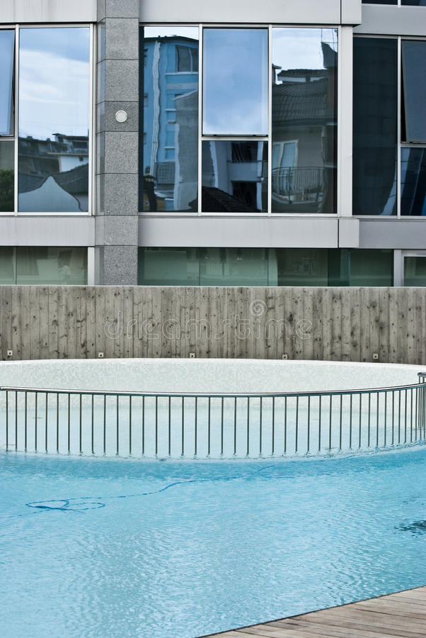 Download Modern hotel stock photo. Image of pool, relax, hotel - 20695942