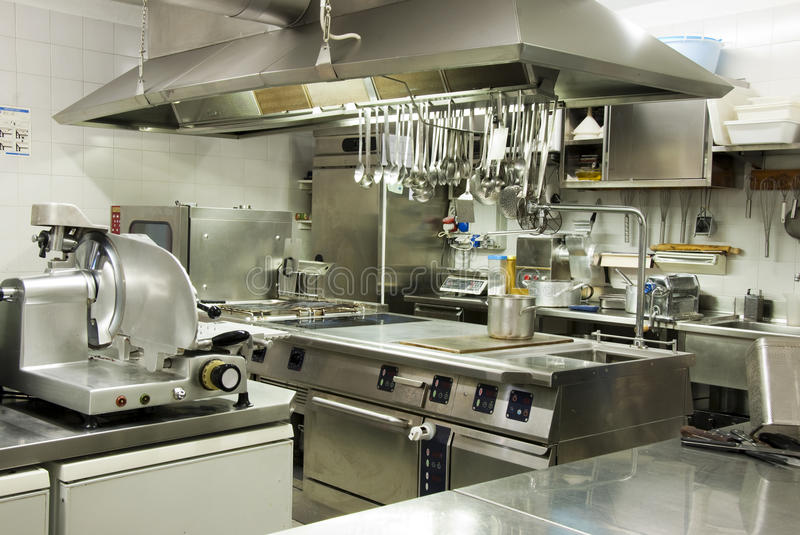 Modern Hotel Kitchen Stock Photo Image Of Hospital Cook