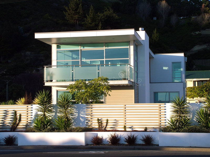 Modern House royalty free stock photography