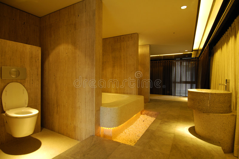Modern house. View on the modern house royalty free stock photography