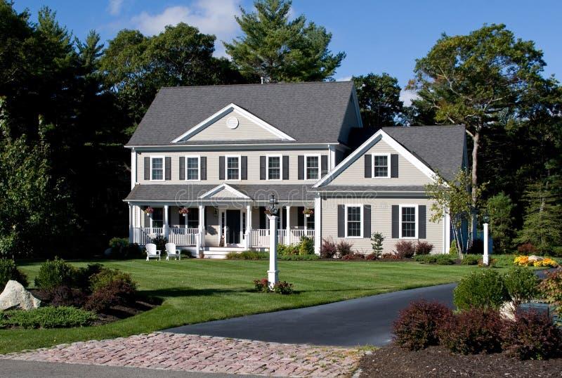 Modern huis royalty-vrije stock fotografie