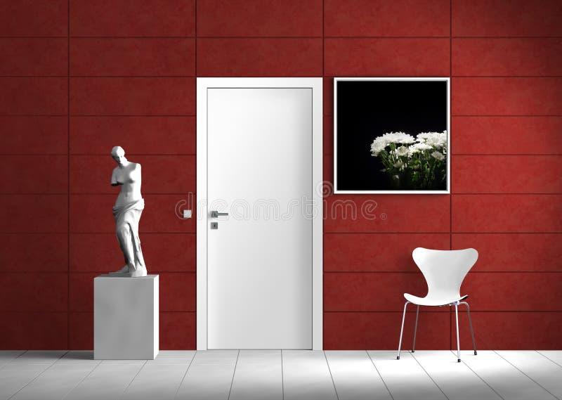 Download Modern Indoor Scene stock illustration. Illustration of fashionable - 13765555