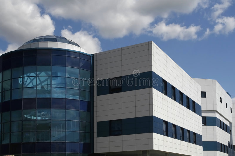 Download Modern industrial building stock image. Image of clinic - 2640185