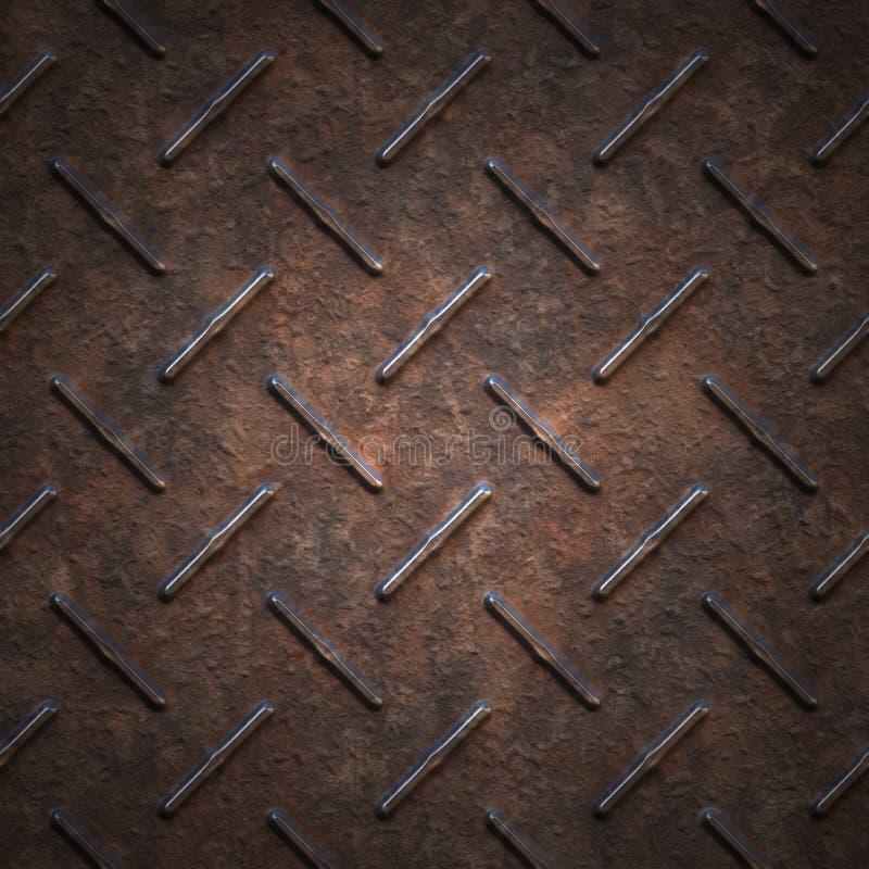 Modern industrieel metaal - Naadloze achtergrond royalty-vrije stock afbeeldingen