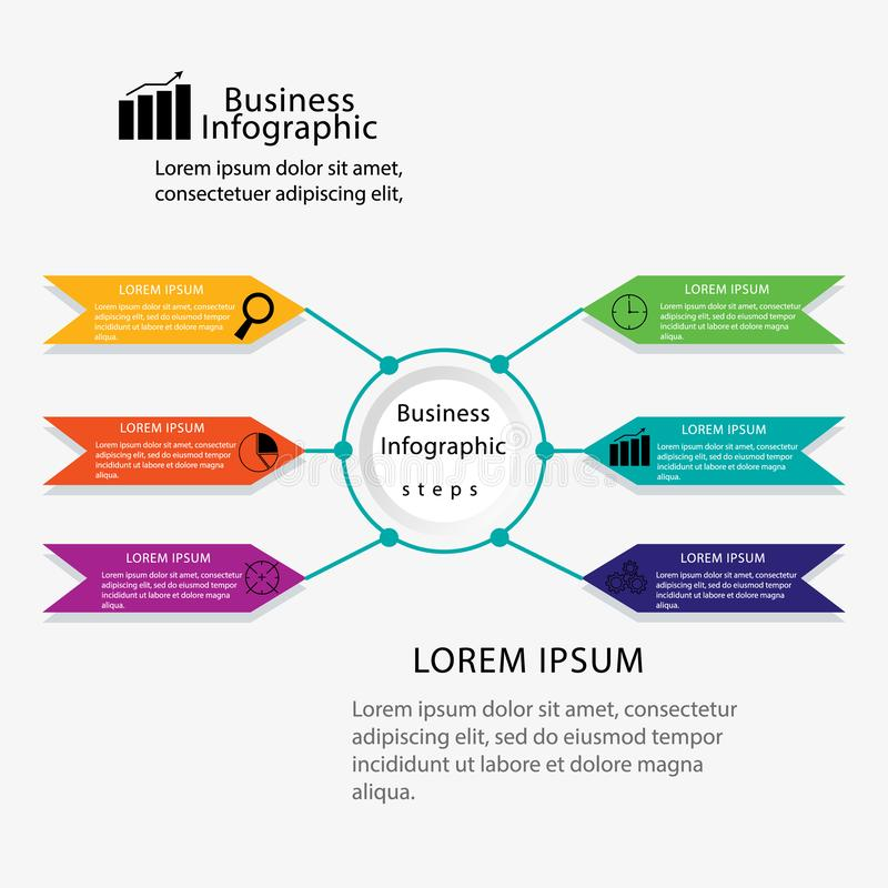 Free Modern Info Graphic Framework. Can Be Used For Workflow Layout, Diagrams, Option Numbers, Timelines And Steps Stock Images - 162164584