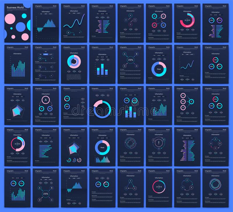 Modern infographic vector concept. Business graphics brochures. Used for workflow layout, diagram, number options, step up options, web template, infographics vector illustration