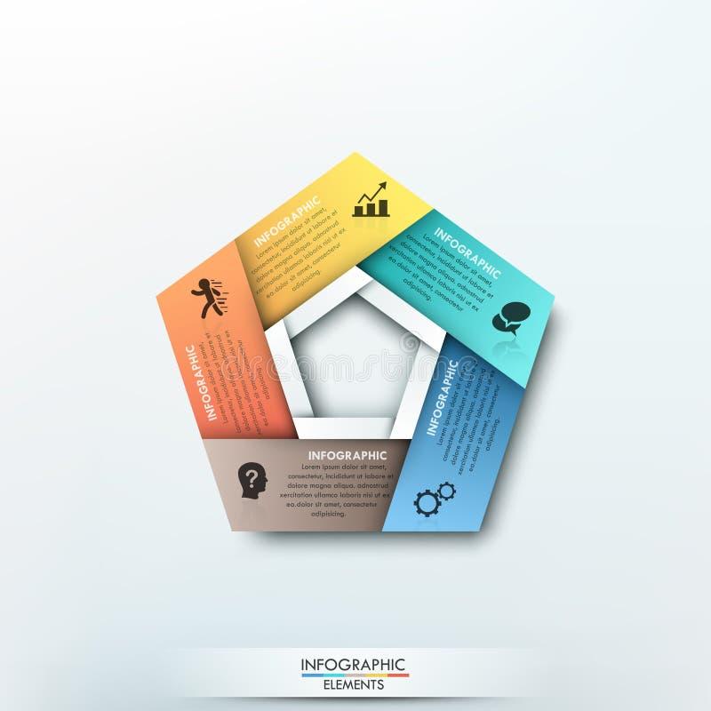 Modern infographics options banner. vector illustration