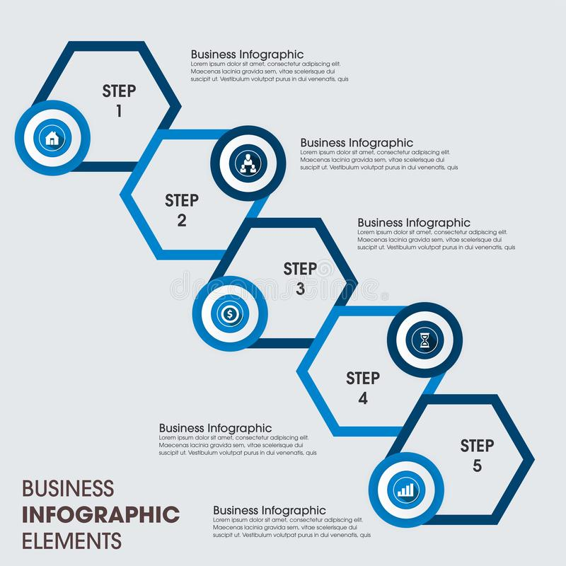 Free Modern Infographics Template. Vector Infographic Element. - Vector Stock Image - 160712401