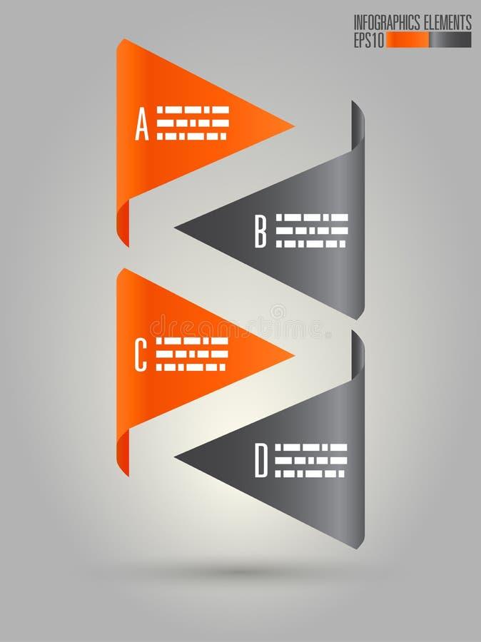 Modern infographicsmall stock illustrationer