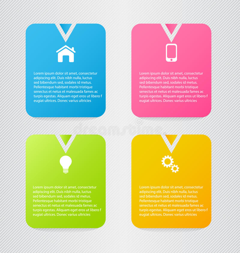 Modern inforgraphic template. Can be used for banners, website templates and designs, infographic posters, brochures, ads design. Modern inforgraphic template vector illustration