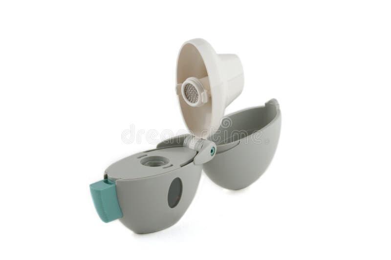 modern inhaler arkivbilder
