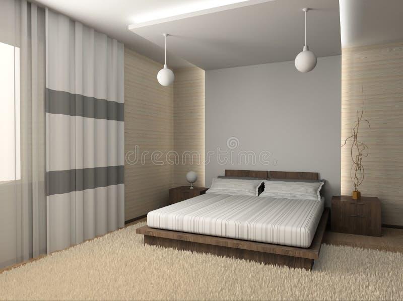 Modern interior vector illustration