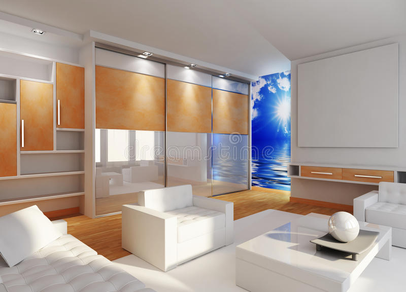 Download Modern interior stock image. Image of dimensional, design - 16382211