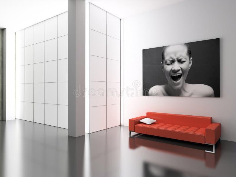 Modern interior. vector illustration