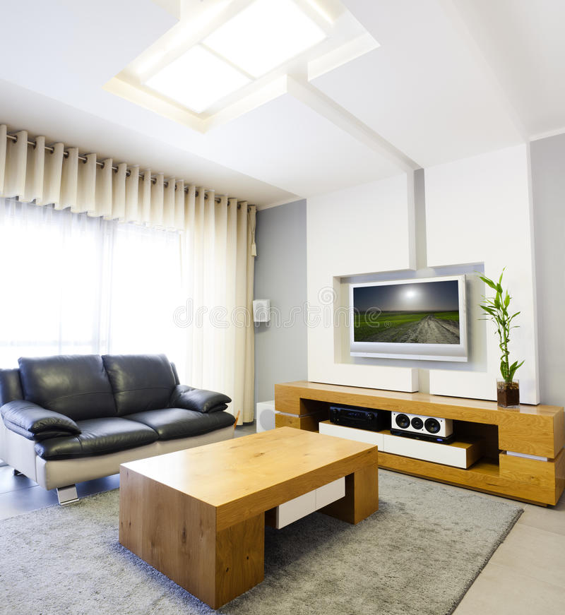 Download Modern Interior stock photo. Image of construction, couch - 25050760