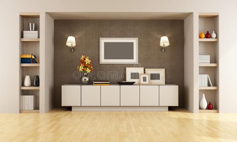 Download Modern interior stock illustration. Image of interior - 25359232