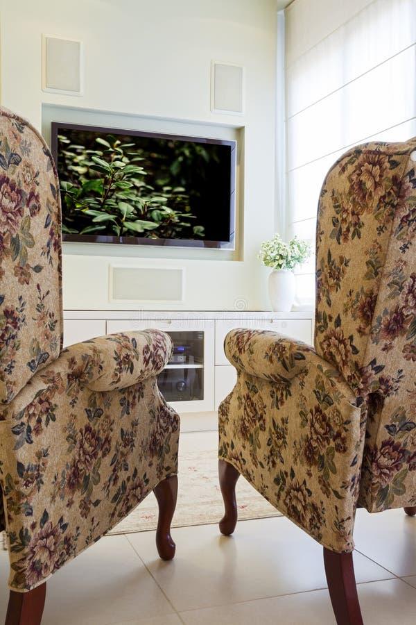 Download Modern Interior stock image. Image of lighting, furniture - 26000099