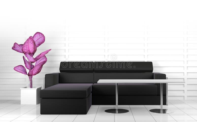 Download Modern  interior stock illustration. Image of fashion - 26887669