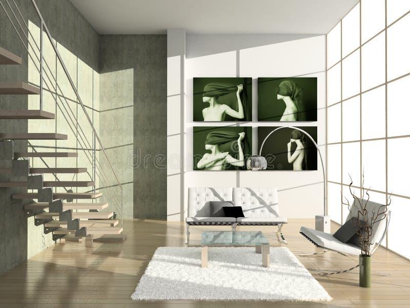 Modern Interior. Royalty Free Stock Photo