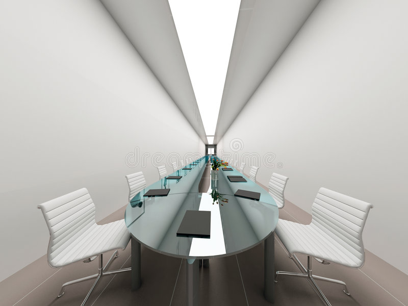 Modern interior. stock photography