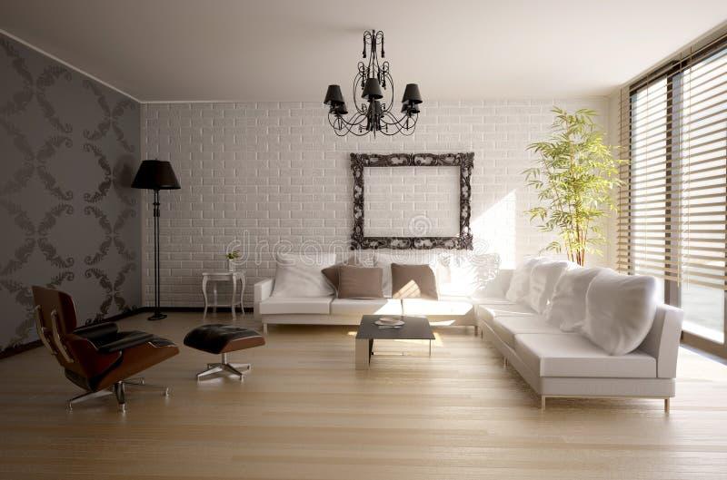 Download Modern interior stock illustration. Image of background - 8271548