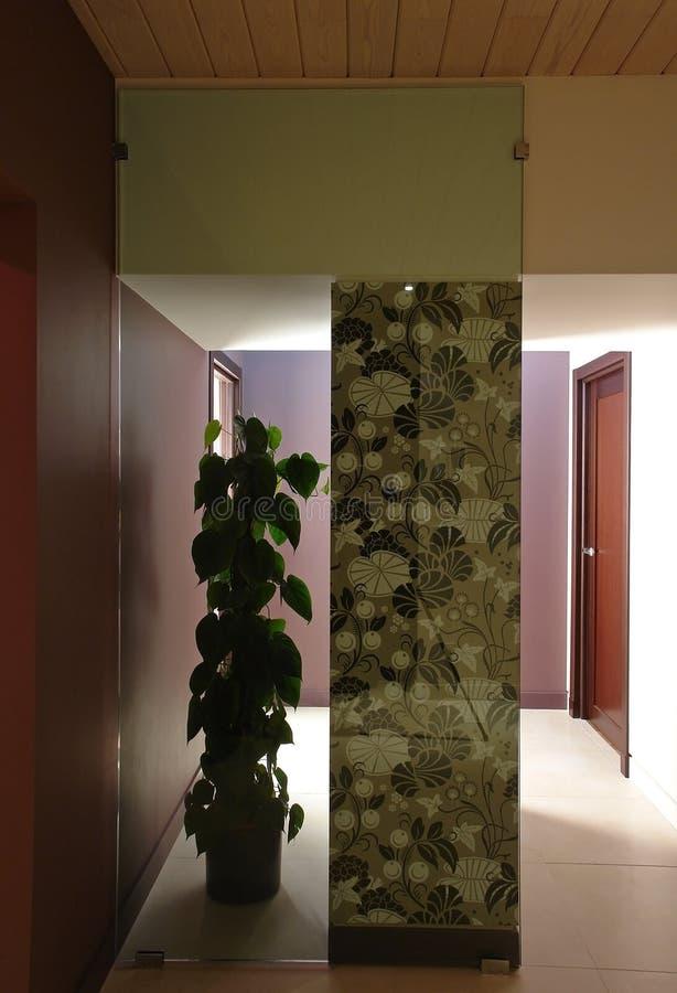 Download Modern interior corridor stock photo. Image of column - 39501746