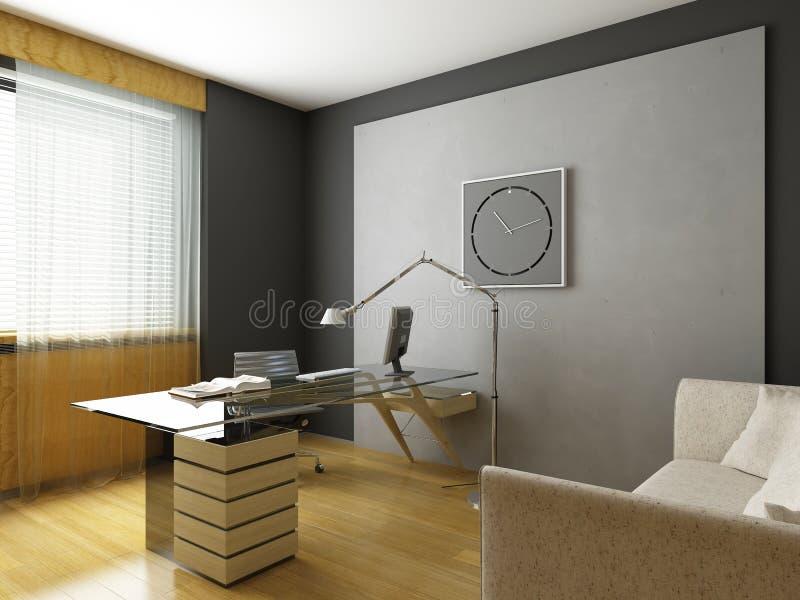 Modern interior design. (privat apartment 3d rendering vector illustration