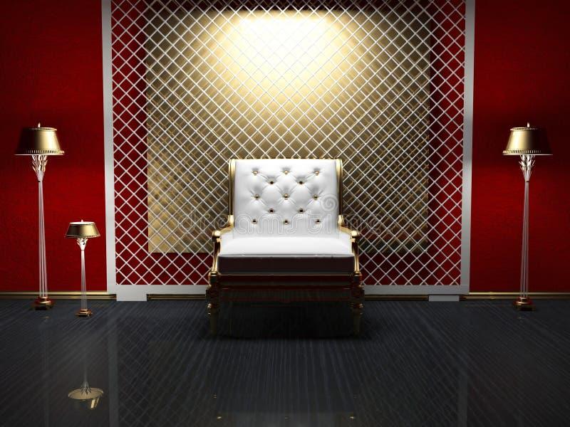 Download Modern Interior Design Of Living Room Stock Illustration - Image: 18807165