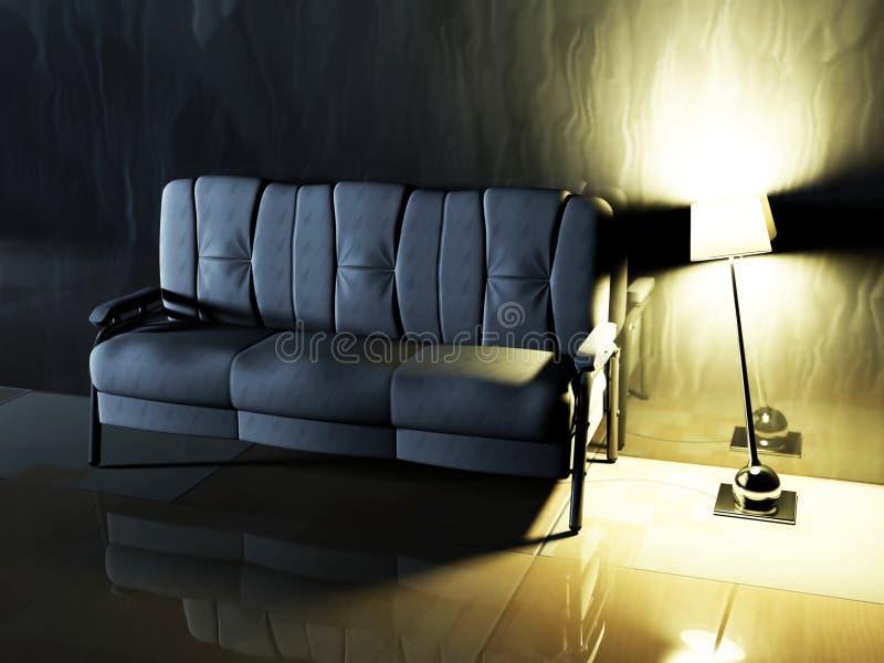 Download Modern  Interior Design Of Living Room Stock Illustration - Image: 19461906