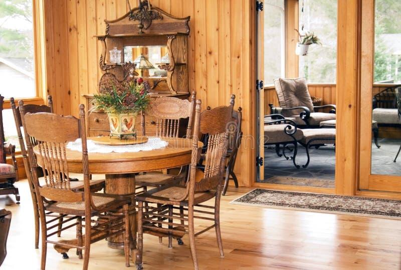 Modern Interior/Dining royalty free stock photo