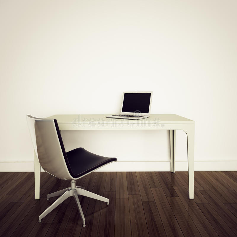 Modern interior office royalty free stock photography