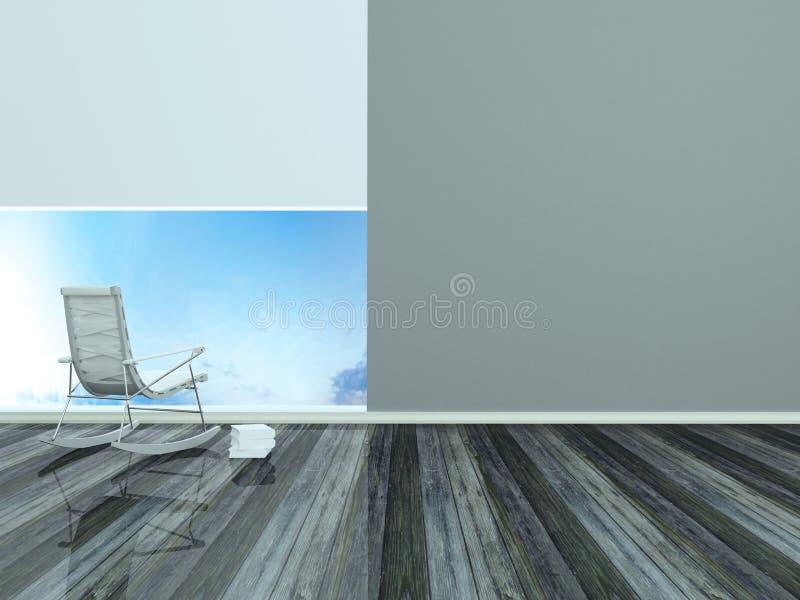 Download Modern Interior, Place For Rest Stock Illustration - Image: 19127222
