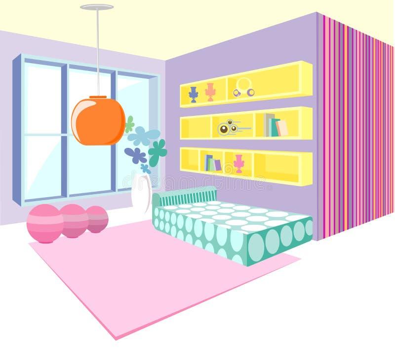 Download Modern interior vector stock vector. Illustration of floor - 5998426