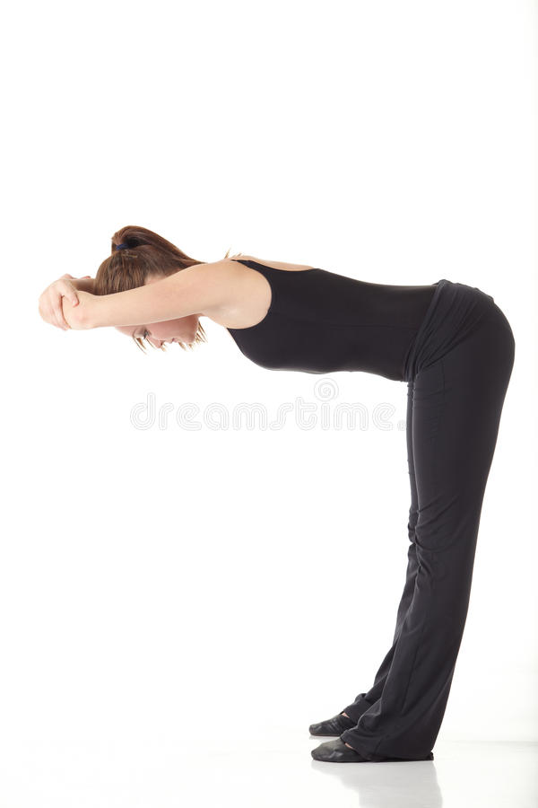 Modern Jazz Dancer Royalty Free Stock Images