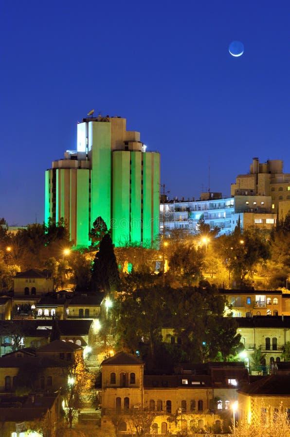 Modern Jerusalem Skyline Stock Photos