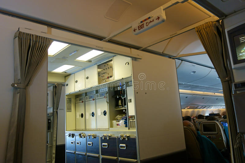 galley airplane seats modern jet aircraft galley stock photo image of drink 252