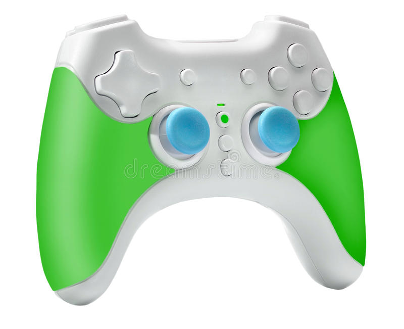 Modern Joystick, Gamepad or Video game controller royalty free stock photography